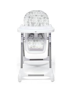 Mamas & Papas Snax Highchair - Grey Hexagons