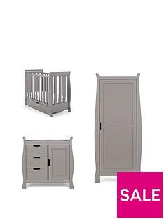 obaby-stamford-space-saver-sleigh-3-piece-nursery-room-set