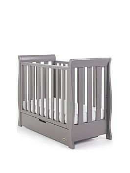 Obaby Stamford Space Saver Sleigh Cot