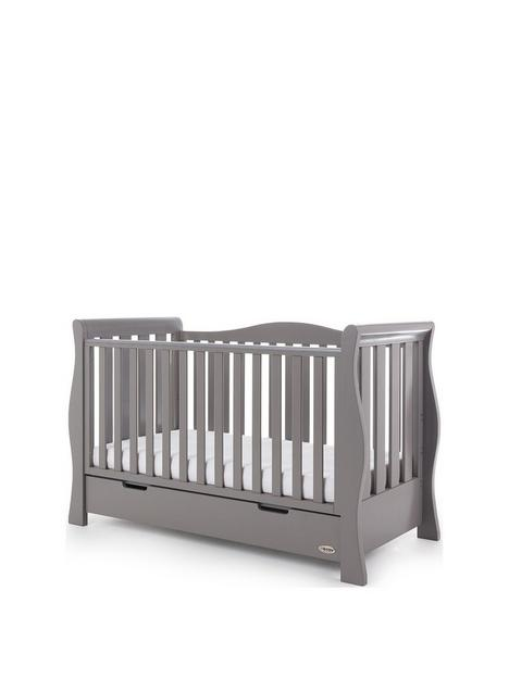 obaby-stamford-luxenbspsleigh-cot-bed