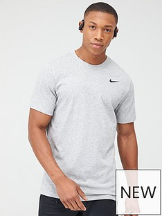 nike-solid-crew-neck-training-t-shirt-dark-grey-heather