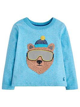 joules-chomp-bear-t-shirt-blue