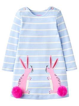 joules-girls-kaye-bunny-applique-pom-pom-dress-sky-blue