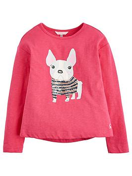 joules-raya-pug-sequin-long-sleeve-t-shirt-pink