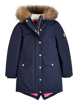 joules-willow-faux-fur-hood-parka-navy