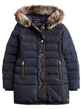 joules-girls-blisworth-faux-fur-hood-padded-coat-navy