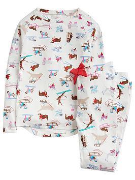 joules-girls-sleepwell-jersey-dog-print-pyjama-set-white