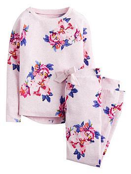 joules-girls-sleepwell-jersey-floral-pyjama-set