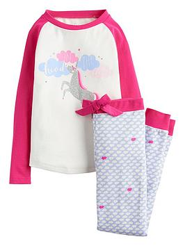 joules-girls-sleepwell-unicorn-sequin-pyjama-set