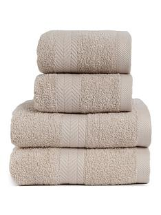essentials-collection-4-piece-100-cotton-450-gsm-quick-dry-towel-bale-ndash-pebble