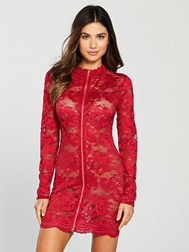 ann-summers-blaire-lace-dress-red