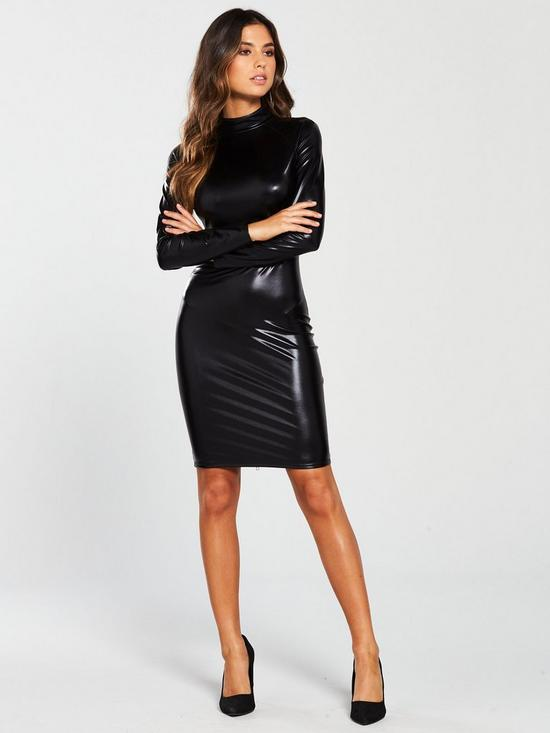 4b603657196 Ann Summers Dominatrix Long Sleeve Dress - Black