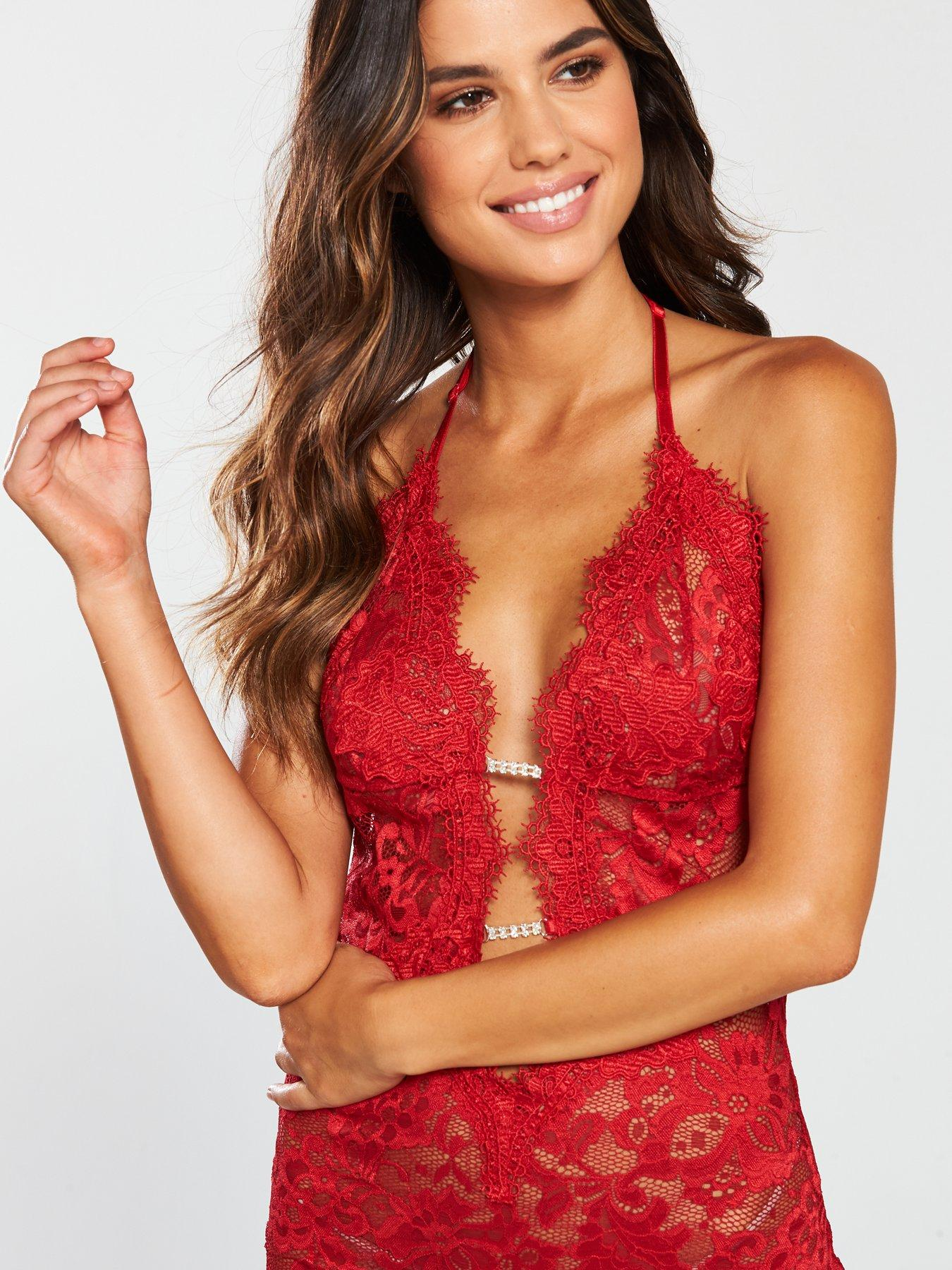 Red Sizes XS XXL Details about  /Ann Summers Kady Chemise