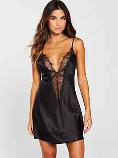 ann-summers-cherryana-chemise-night-dress-black