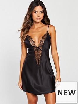 ann-summers-cherryana-chemise-night-dress-blacknbsp