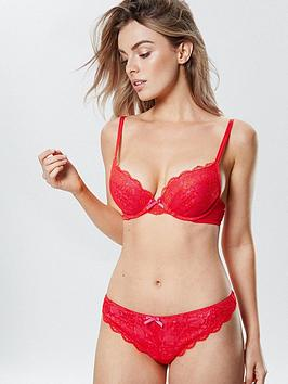 ann-summers-kimminbspplunge-bra-red