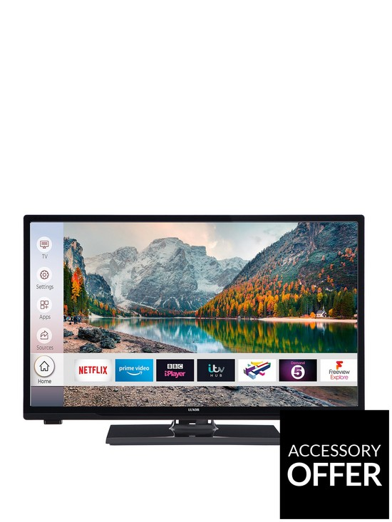 24 inch, HD Ready, Freeview Play, Smart TV