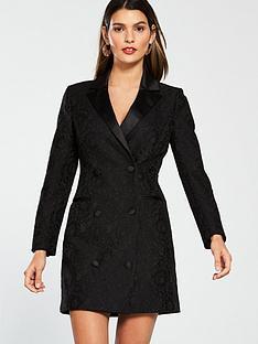 v-by-very-lace-tux-dress-black