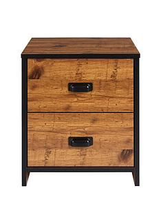 Jackson Kids 2 Drawer Bedside Chest