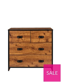 Jackson Kids 2 + 2 Drawer Chest