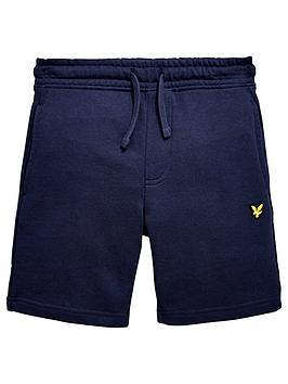 lyle-scott-boys-classic-sweat-shorts-navy