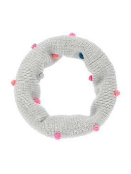accessorize-girls-pom-pom-snood-grey