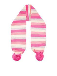 accessorize-girls-stripednbsppomnbsppom-scarf-multi