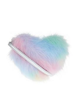 accessorize-girls-fluffy-ombre-heart-crossbody-bag