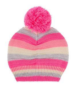 accessorize-girls-stripe-pom-beanie