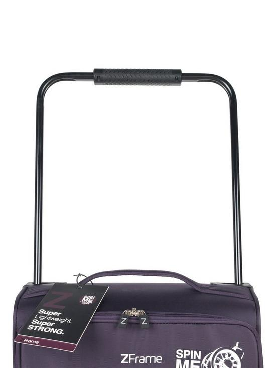 ZFrame Double Super Wheel Light weight Suitcase 18 inch | very.co.uk