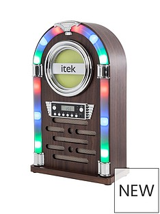 itek-jukebox-i60018cdnbspwith-bluetoothnbspand-cd-player-wood-version
