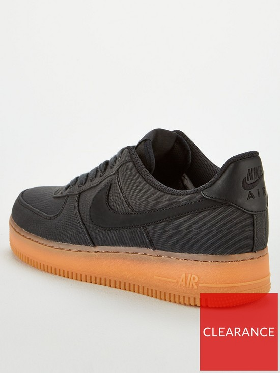 watch 3d445 d6612 Nike Air Force 1  07 LV8 Style Trainers - Black