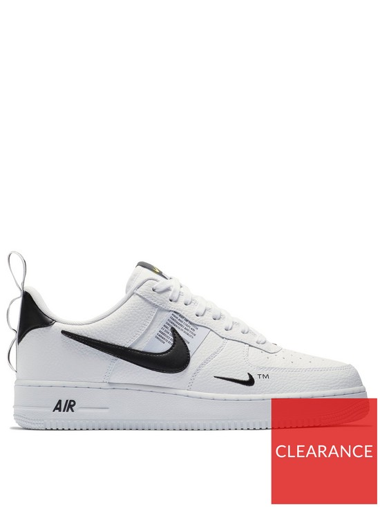 super cute db81d 00006 Nike Air Force 1  07 LV8 Utility - White