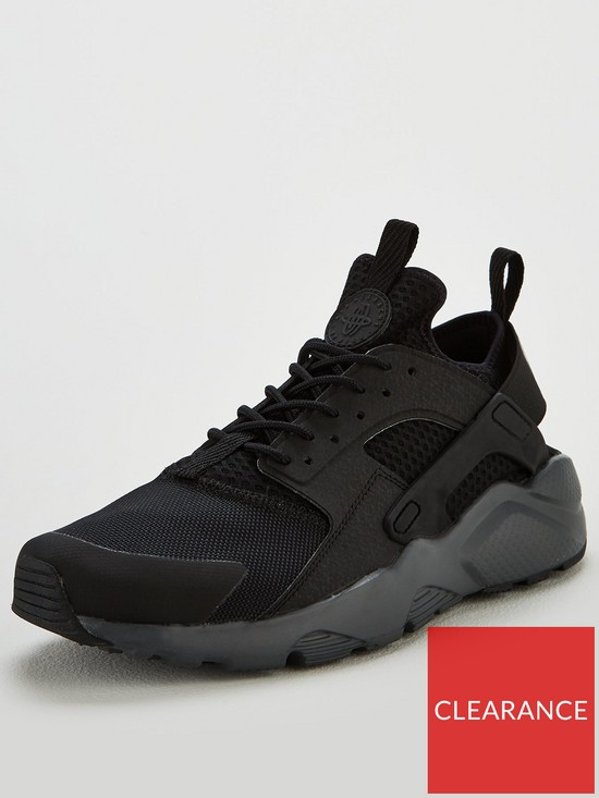 6e2e36d7ec6d Nike Air Huarache Run Ultra GEL Trainers - Black
