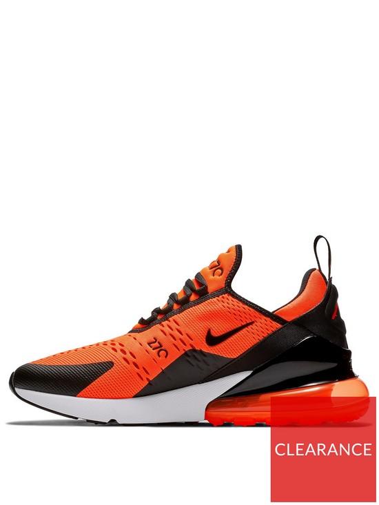 wholesale dealer e0a01 22ca6 Nike Air Max 270 SE - Orange Black