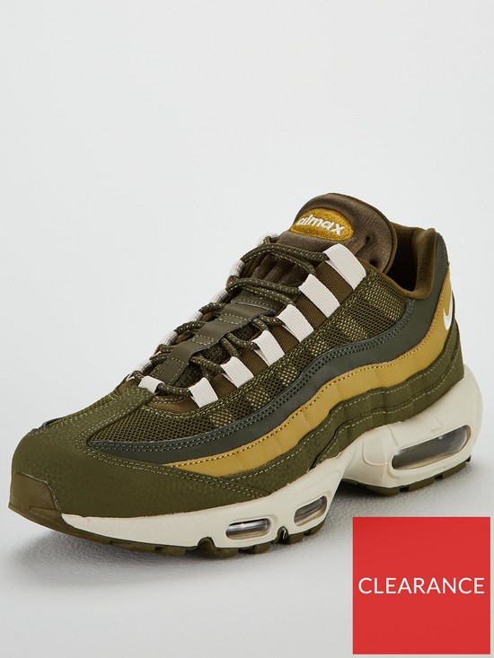 separation shoes a2afc 65f70 Nike Air Max 95 Essential Trainers - Khaki   very.co.uk