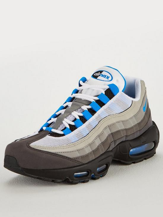 2909020a53 Nike Air Max 95 '99 Trainers - Grey/Blue | very.co.uk