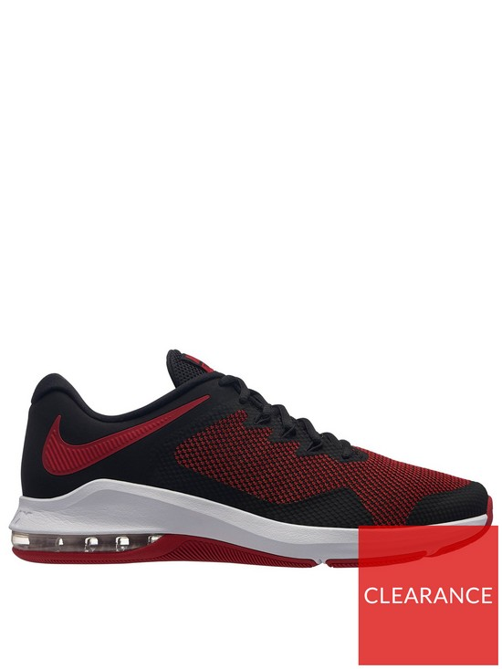 Nike Air Max Alpha Trainers - Red Black  bf092fc002