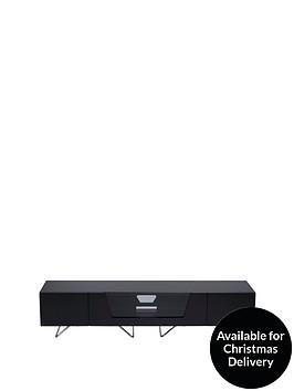 alphason-chromium-160-cm-tv-unit-black-fits-up-to-70-inch-tv