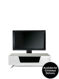 Alphason Chromium 120 cmCantilever TV Unit - White - fits up to 55 inch TV