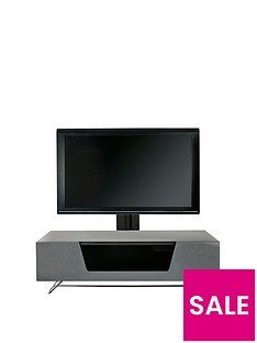Alphason Chromium 120 cm Cantilever TV Unit - Grey - fits up to 55 inch TV