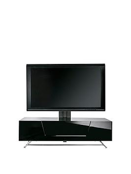 alphason-chromium-120-cm-cantilever-tv-unit-black-fits-up-to-50-inch-tv