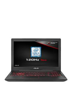 Asus FX504GM-EN151T Intel Core i5, GeForce GTX 1060 6Gb Graphics, 8Gb RAM, 1Tb HDD & 256Gb SSD, VR Ready, 15.6 inch Gaming Laptop