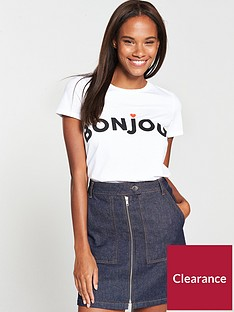 v-by-very-bonjour-slogan-t-shirt-white