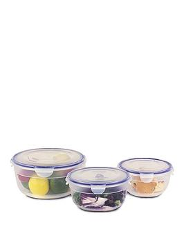lock-and-lock-nestable-square-food-storage-containers-ndash-set-of-3
