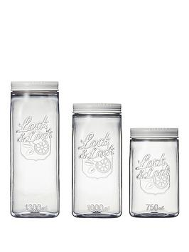 lock-and-lock-set-of-3-square-food-storage-canisters-clear