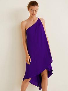 mango-amilia-asymmetric-one-shoulder-dress-purple