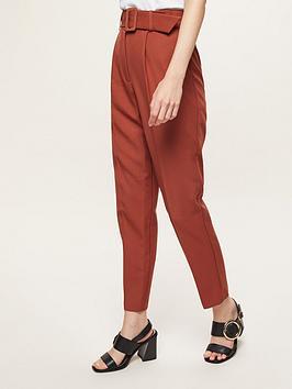 miss-selfridge-paperbag-trouser-rustnbsp