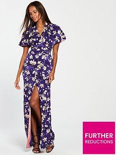 mango-printed-maxi-dress-purplenbsp