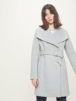 miss-selfridge-belted-wrap-coat-grey